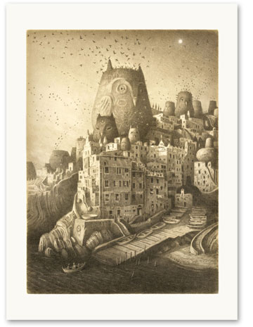 Shaun Tan place of Nests