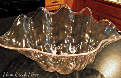 DIY Giant clam Shell - Plum Creek Place