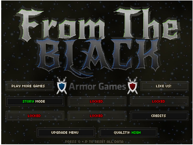 Armor Game : From The Black
