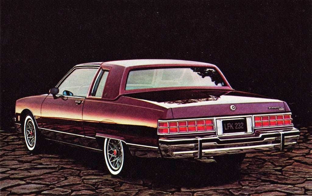 all american classic cars 1981 pontiac bonneville brougham 2 door coupe. Black Bedroom Furniture Sets. Home Design Ideas