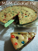 The original M&M Cookie Pie