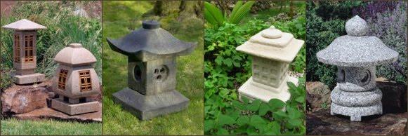 fotos linternas-lamparas-pagodas japonesas oki gata