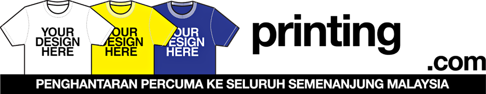 Printing Baju Murah | Cetak Baju Murah | T-Shirt Printing Malaysia | Tempahan Baju Korporat