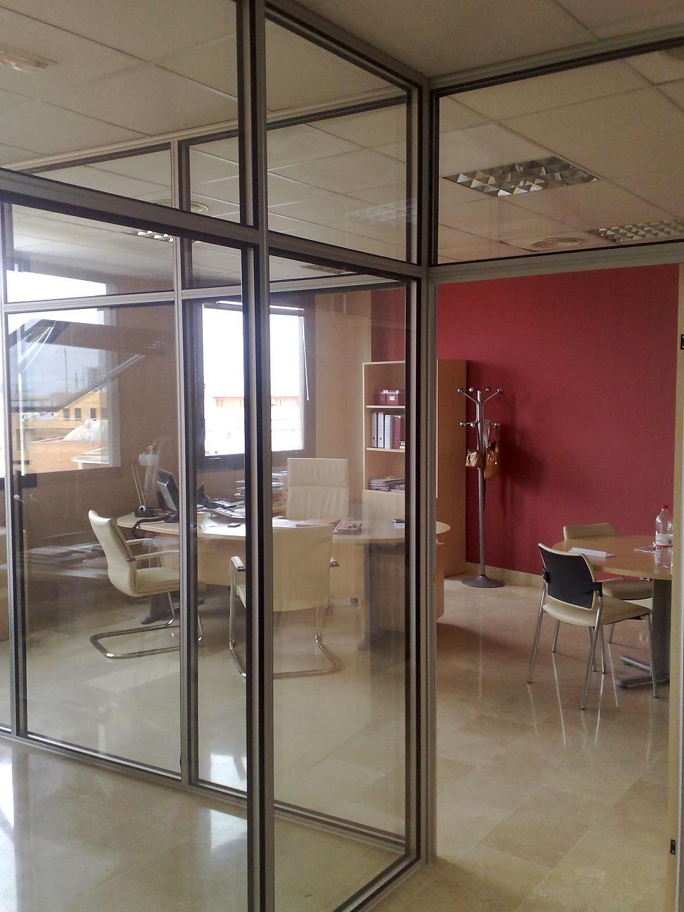Mamparas de oficina dise o fabricaci n y montaje for Distribucion oficinas pequenas