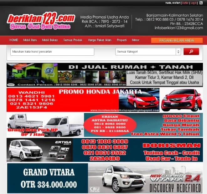 Beriklan123.com Situs Jual Beli Online Dan Iklan