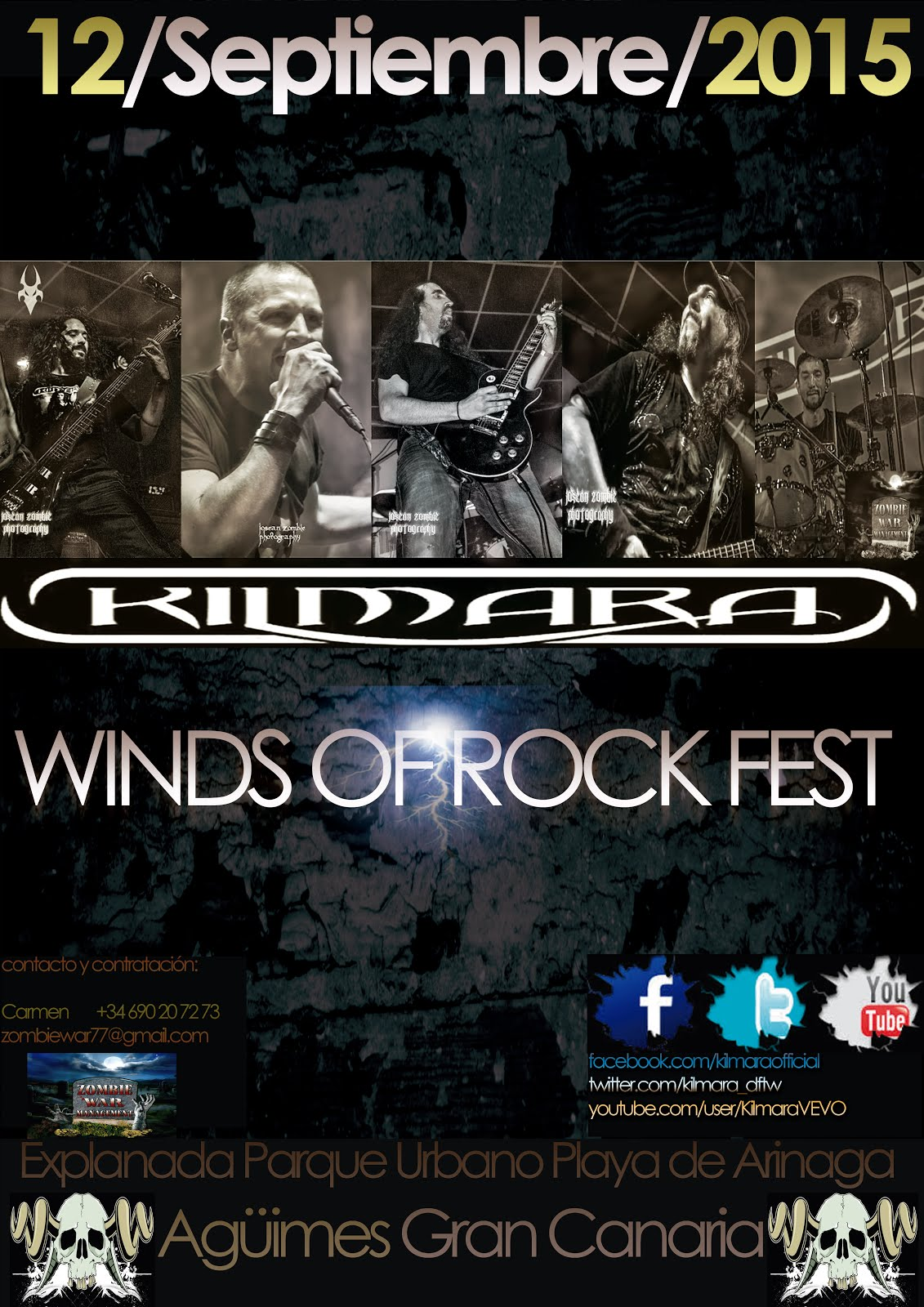 KILMARA EN EL WINDS OF ROCK FEST
