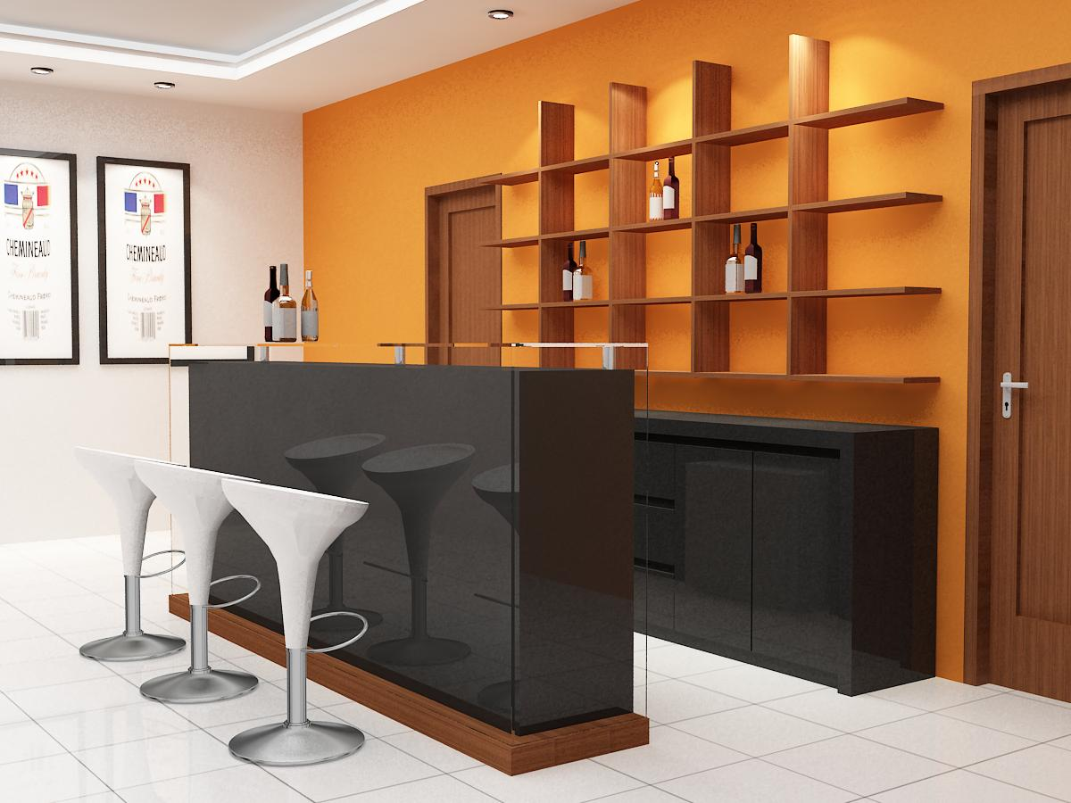 innenarchitektur design: Haus-bar Design