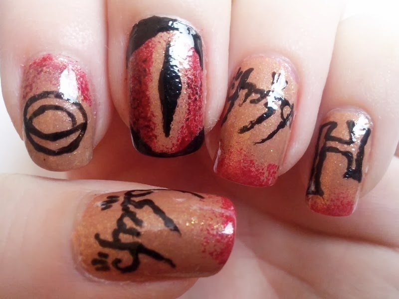 The hobbit nails lotr nails