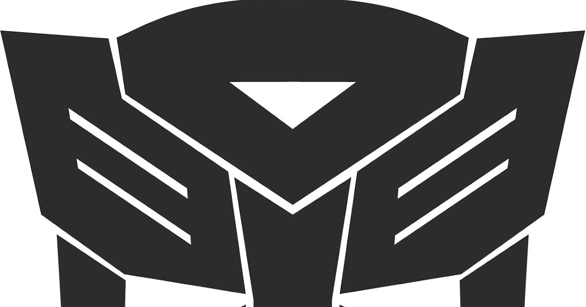 vector of the world autobot transformers logo