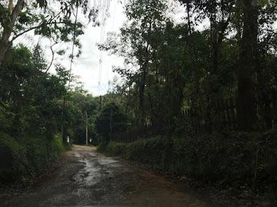 Estrada para as cachoeiras