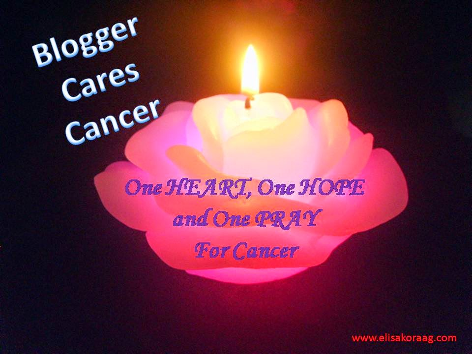Blogger Cares Cancer Campaign