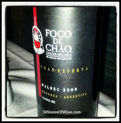 Fogo De Chao Malbec