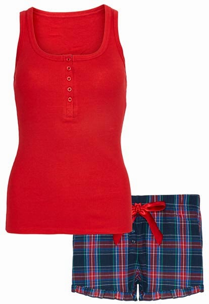 Primark online: pijama para mujer con shorts