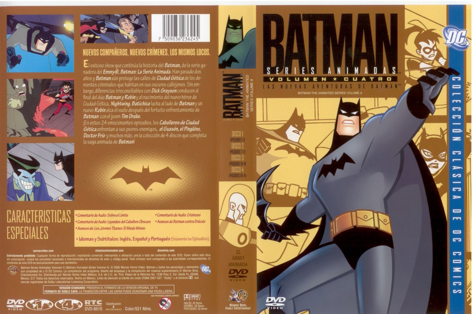 Batman The Animated Series 4° Temporada