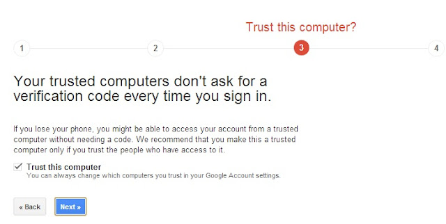 2-Step Verification - Make Computer Trusted