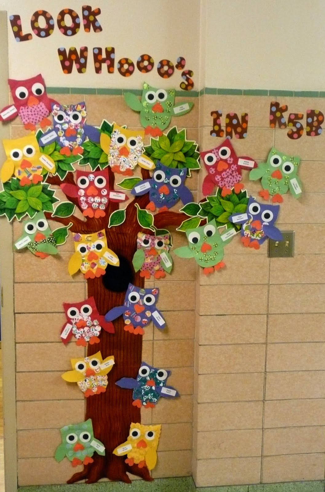 The Very Busy Kindergarten: Outside My Classroom
