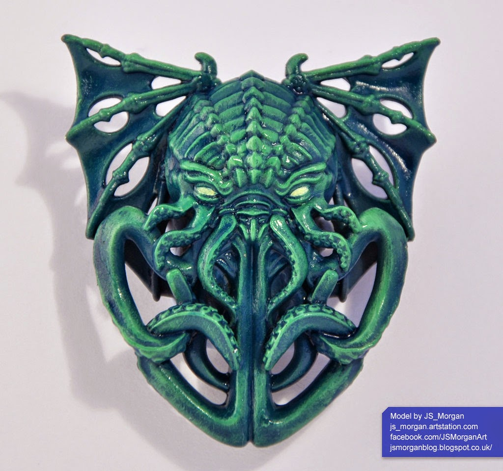 propnomicon cthulhu pendant