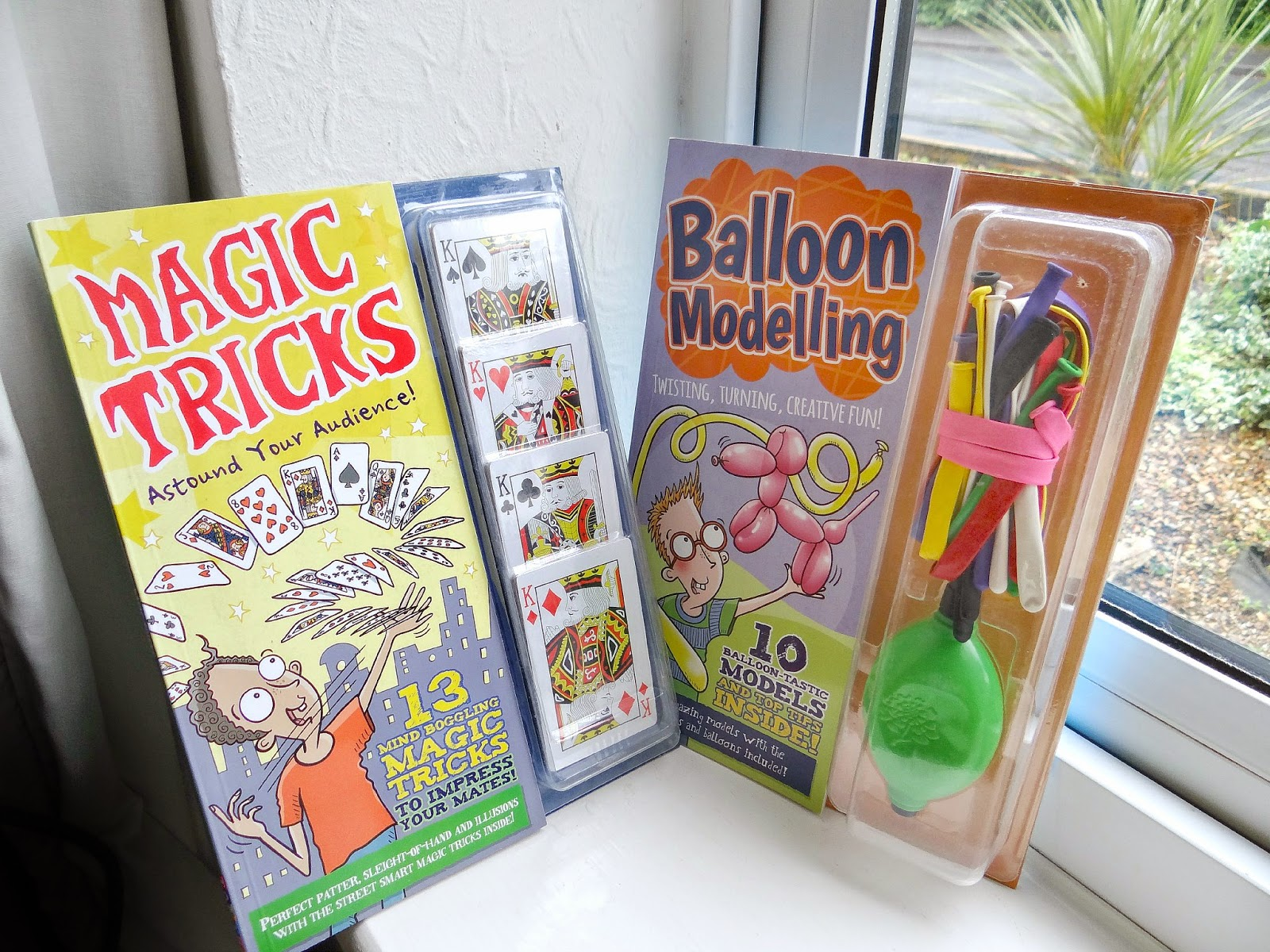 Tobar Crafty Books, Tobar Balloon Modelling book, Tobar Magic Tricks book