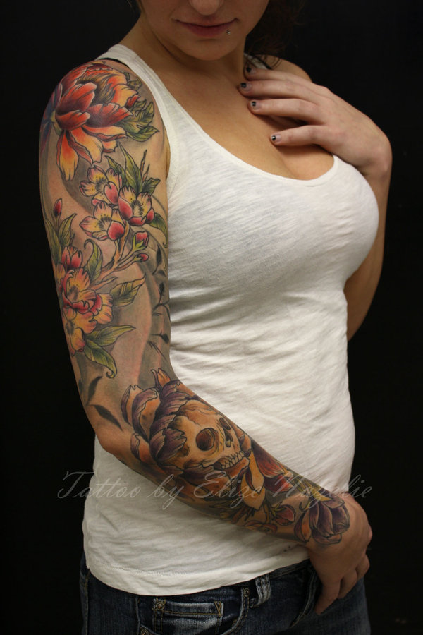 Sleeve tattoo ideas sleeve tattoo designs for Tattoo sleeve ideas girl
