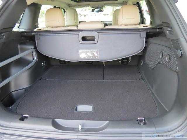 Jeep Cherokee 2015 Limited - porta-malas
