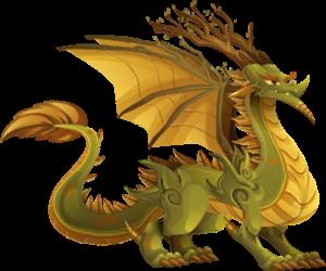 imagen del dragon gaia adulto
