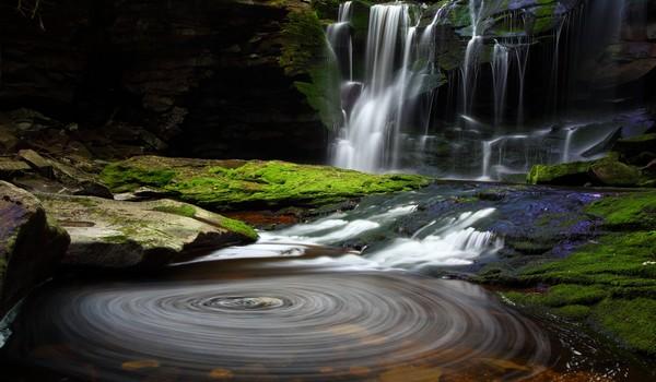 Cascadas Elakala, Parque Nacional Cascadas Blackwater, West Virginia
