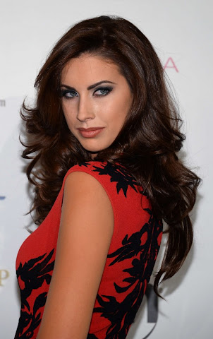 Katherine Webb Visit in Miss USA Pageant 2013