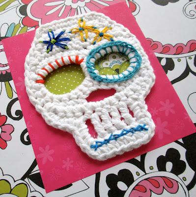 free crochet sugar skull pattern