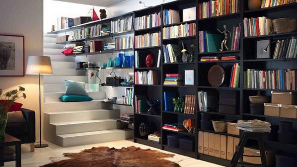 Id es de conception de biblioth que d cor de maison d coration chambre - Ikea software interior design ...