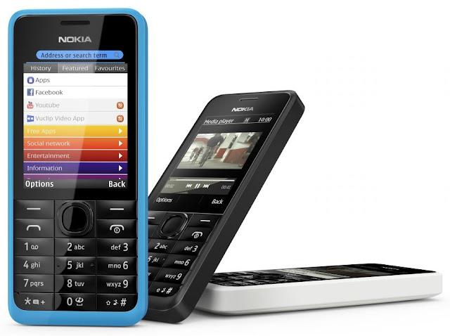Nokia 301 (One SIM)