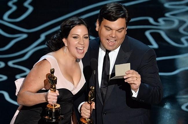 Kristen Anderson-Lopez Robert Lopez Frozen Oscars animatedfilmreviews.filminspector.com