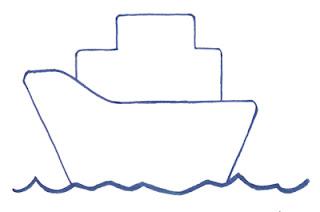 корабль поэтапно