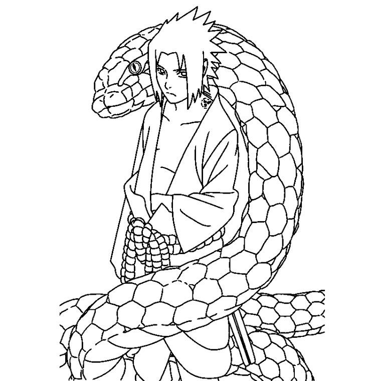 Top du Meilleur: Coloriages Naruto Gratuits a Imprimer