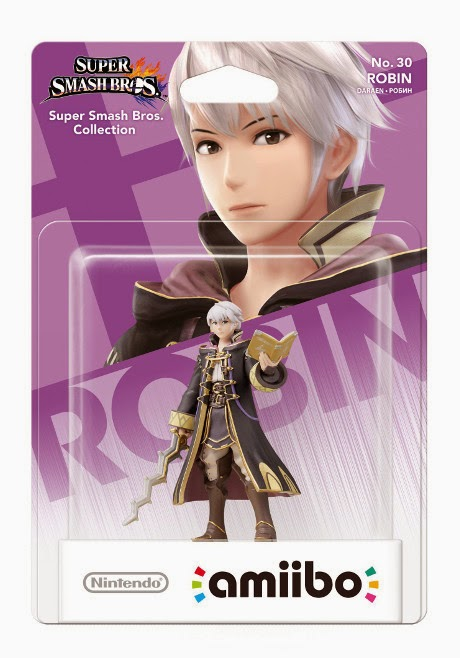 JUGUETES - NINTENDO Amiibo - 30 : Figura Robin (Fire Emblem)  (24 Abril 2015) | Videojuegos | Muñeco | Super Smash Bros Collection Plataforma : Wii U& Nintendo 3DS