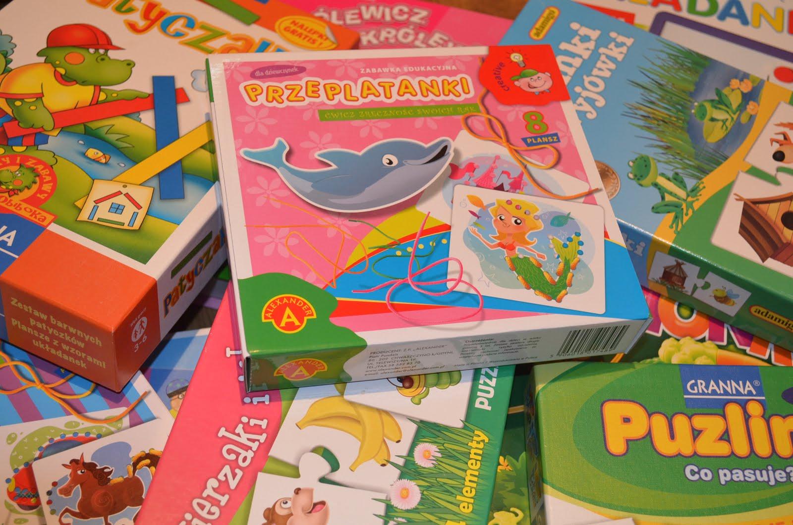 Recenzje gier i zabawek dla dzieci