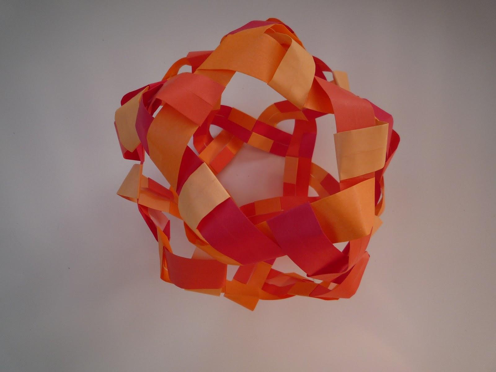 A new origami tutorial by Tadashi Mori - Kusudama Aline ... - photo#20