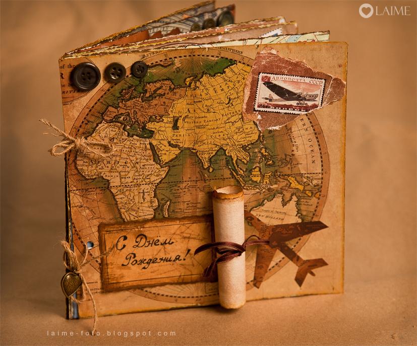 Скрапбукинг набор для фотоальбома