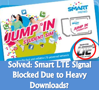 block LTE signal, Smart, prevent, always in LTE, jump-in SIM