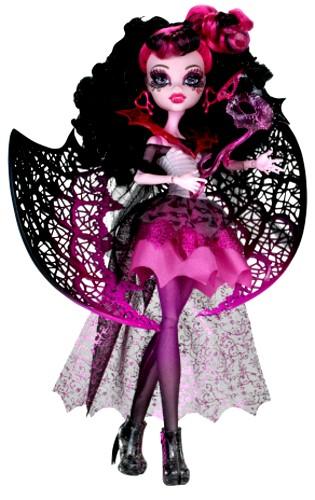 Cute Draculaura Ghouls Rule Costume DOLL