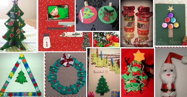 Manualidades con mis hijas enero 2016 - Manualidades infantiles para navidad ...