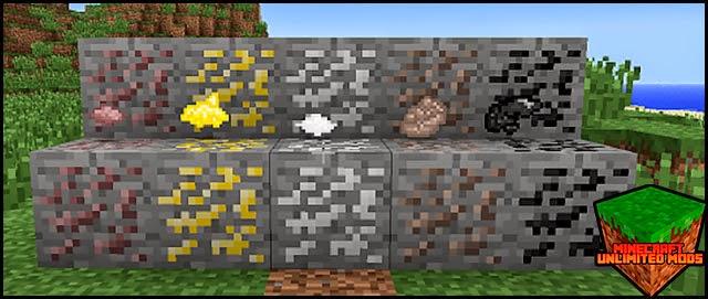 Metallurgy Mod minerales
