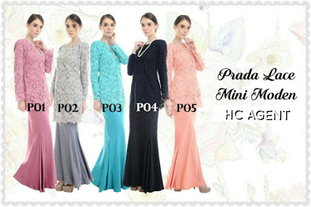 Kurung Mini Prada LAce Edisi Khas Raya HAji Untuk YAng Ingin Kelihatan Exclusive