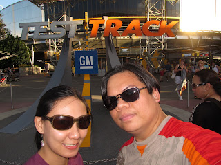Disney Epcot Test Track