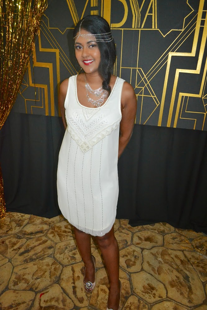 white beaded dress great gatsby white beaded dress