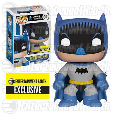 "Entertainment Earth Exclusive ""Retro"" 1950s Batman DC Comics Pop! Heroes Vinyl Figure by Funko"