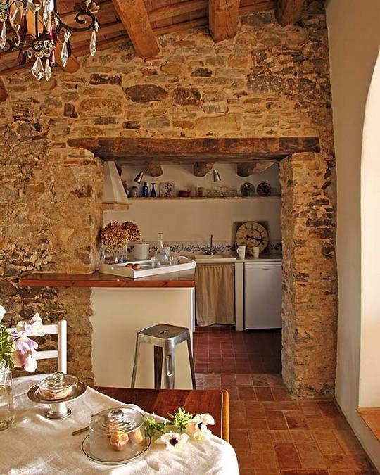 Estilo rustico casa rustica en cataluna - Estilo rustico ...