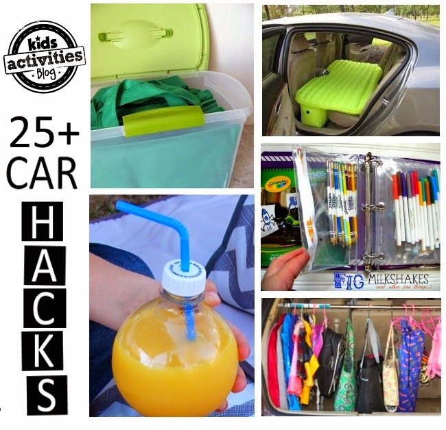 Car Hacks, Tricks and Tips for Families