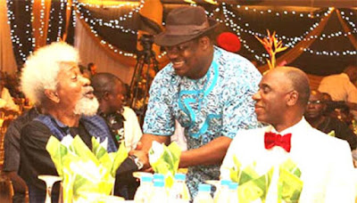 Ex Governor Rotimi Amaechi Spent 82 Million Naira To Host Wole Soyinka At A 3-hour Dinner, Documents Reveal
