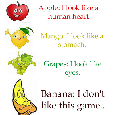 How fruits look like Game
