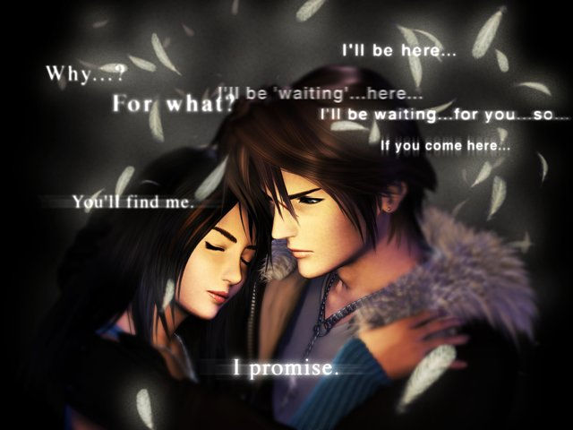 Squall And Rinoa Quotes Rinoa Heartilly And Squall